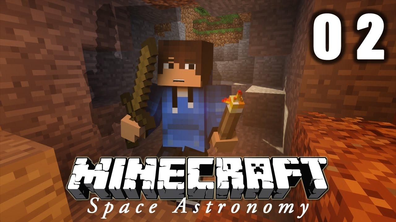 JEXPLORE MA PREMIÈRE GROTTE MINECRAFT SPACE ASTRONOMY YouTube - Minecraft die grobten hauser
