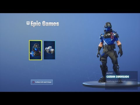 Fortnite Battle Royale: How To Get A FREE Skin And Backbling (Free CARBON COMMANDO Outfit)