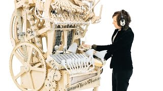 meet the Retired Marble Machine at Speelklok Museum