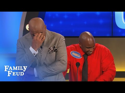 My man thinks he's a PhD in... | Family Feud