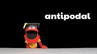 Mario's Word of the Week - Antipodal
