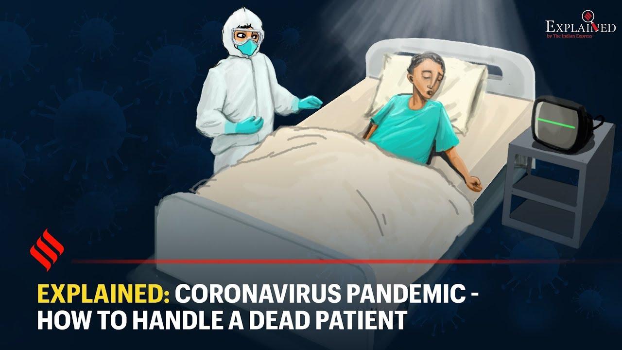 It should read Vax Pandemic: How To Handle A Dead Patient.