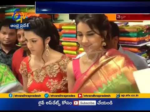Actress Rashi Khanna and Mehreen Glitter | in Nellore