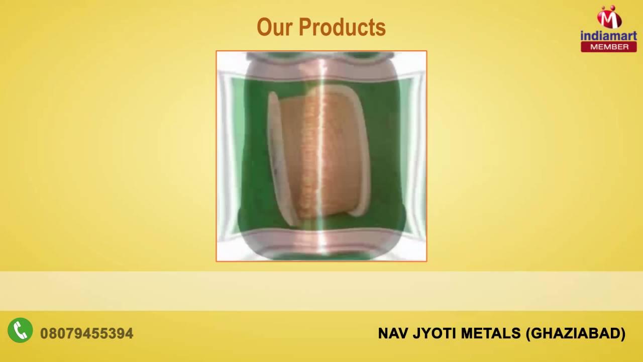 Aluminum Copper Wires Strips By Nav Jyoti Metals Ghaziabad Youtube Vs Wiring