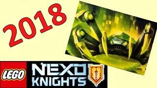 LEGO Nexo Knights 2018 Джестро Лицар і вивчаємо набір з Акселем