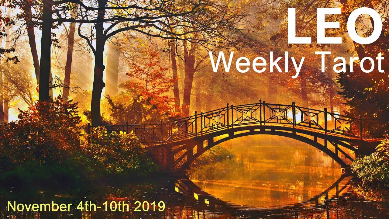 leo weekly 10 to 16 tarot video