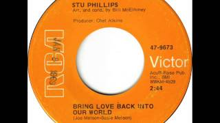 Stu Phillips Bring Love Back Into Our World