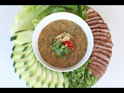 Prahok Dipping Sauce With Steak