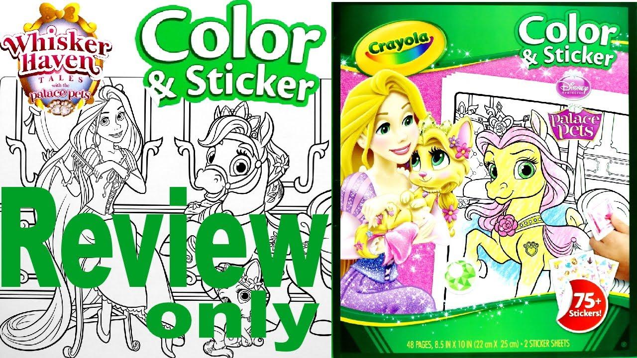 Full Coloring Book Review - Disney Princess And Palace Pets ...