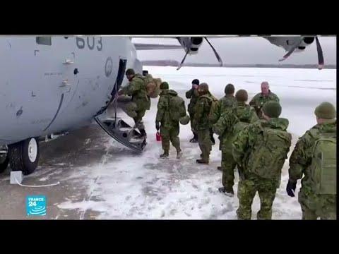 فيديو: الثلوج تحاصر مدينة كندية والجيش يتدخل للإغاثة  - نشر قبل 16 ساعة