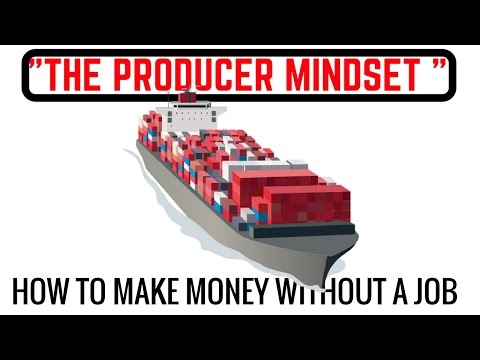 How to Make Money -The Consumer Mindset Versus The Producer Mindset