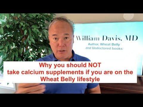 Why You Should NOT Take Calcium Supplements If You Are On The Wheat Belly Lifestyle