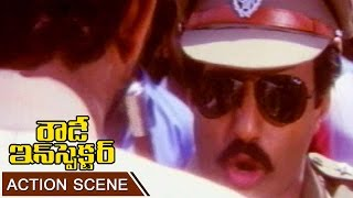 Balakrishna Powerful Dialogue Scene || Rowdy Inspector Telug Movie || Balakrishna, Vijayasanthi