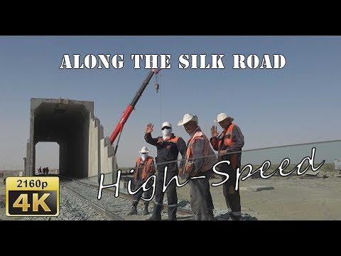 Passing through the Kyzylkum Desert  - Uzbekistan 4K Travel Channel