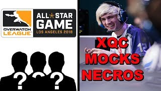OWL All-Stars Revealed! XQC Mocks Necros For Cheating! Taimou Calls Out Necros! Dafran Opinion!