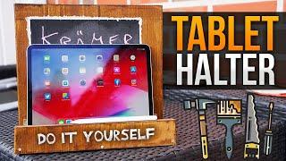 Tablet Ständer aus Holz - Anleitung und Tipps & Tricks