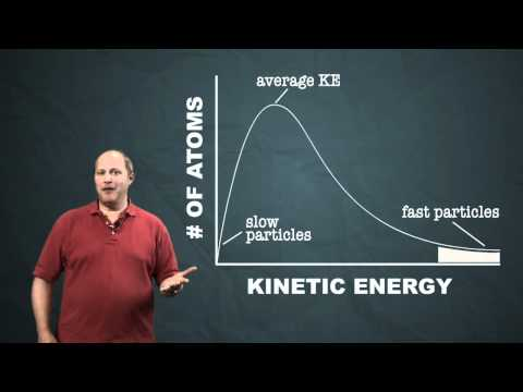 Distribution of Kinetic Energy