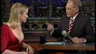Renee Zellweger on Letterman--Cold Mountain--Part 2