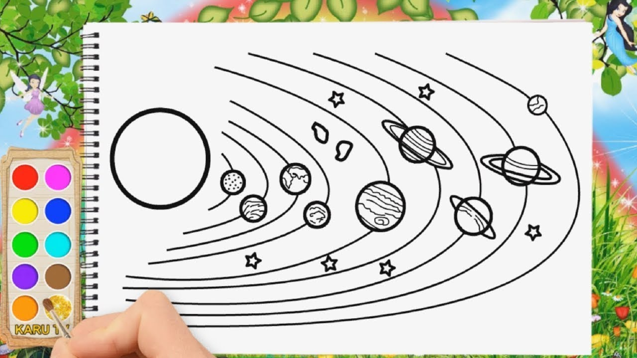 Solar System Coloring Page   Kids Coloring…   PBS KIDS for Parents   720x1280