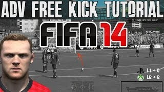 FIFA 14 Tutorials & Tips | Advanced Free Kick (How to) Dipping & Power | Best FIFA Guide (FUT & H2H)