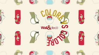 Wall&decò Collection 2018 - ColoreVScolore Palette