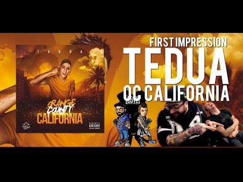TEDUA  - ORANGE COUNTY CALIFORNIA | FIRST IMPRESSION | ALBUM COMPLETO | FADA & BARLOW