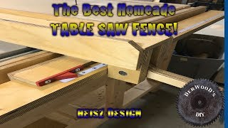 Building A New Table Saw Fence | (Heisz Design)
