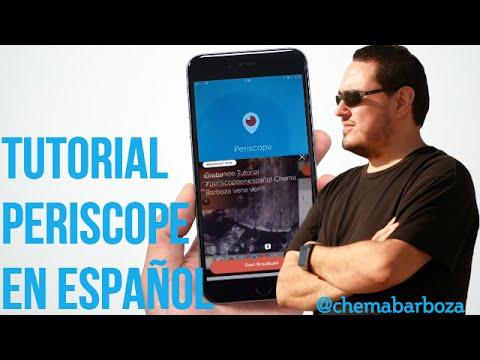 Periscope en Español * Tutorial Completo *  ( Como Usar Periscope y Para Que Sirve )