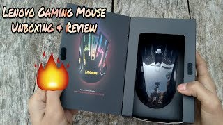 Lenovo legion m200 wired Gaming mouse Unboxing And Review Best mouse for playing pubg