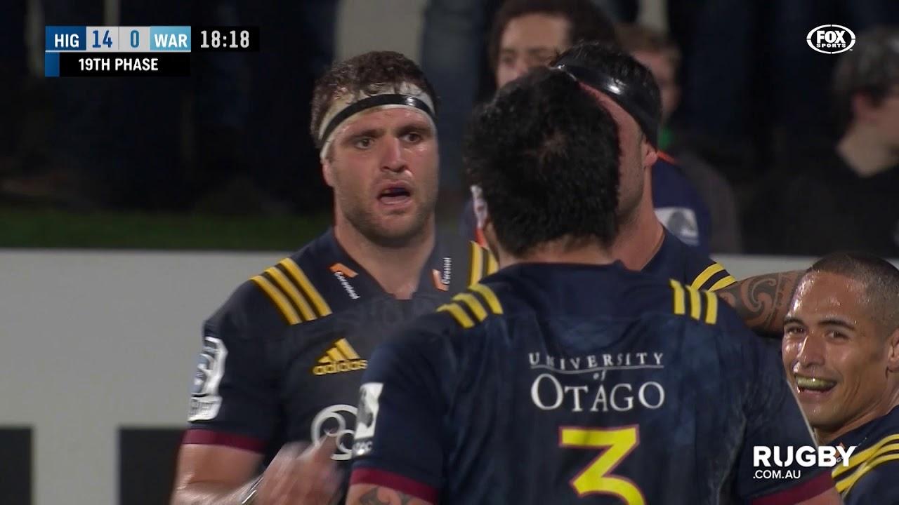 Super Rugby 2019 Round 18: Highlanders vs Waratahs