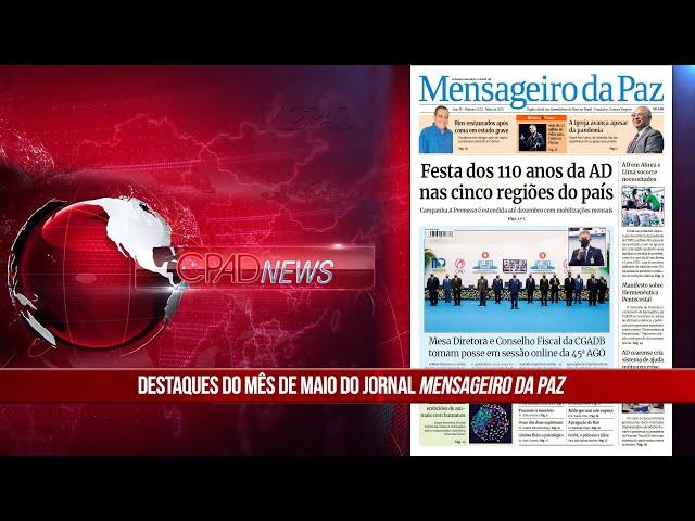 Boletim Semanal de Notícias - CPAD News 207