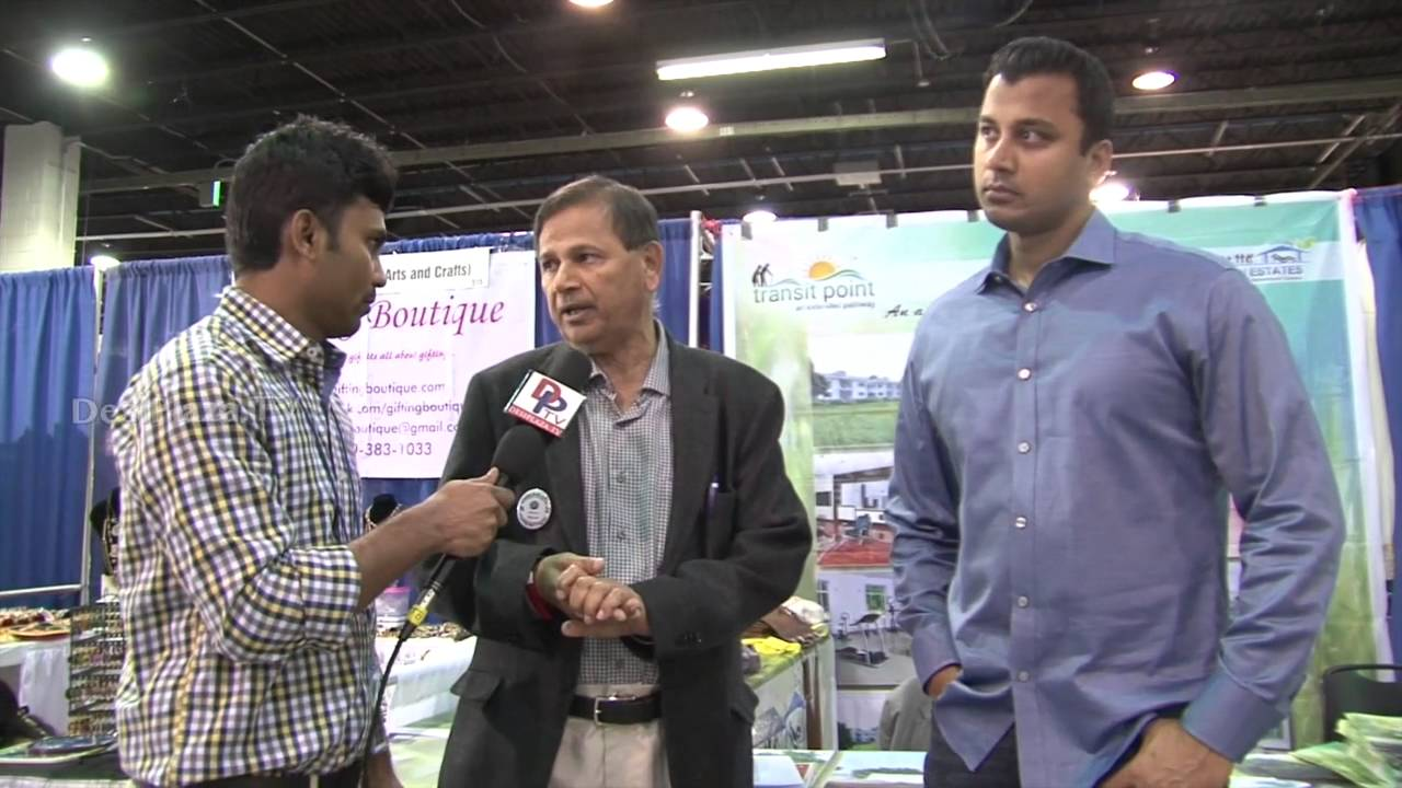 Representatives from Old age homes from Hyderabad speaking to Desiplaza TV.