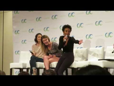 Clexacon 2017  Gabrielle Christian, Mandy Musgrave & Aasha Davis 78