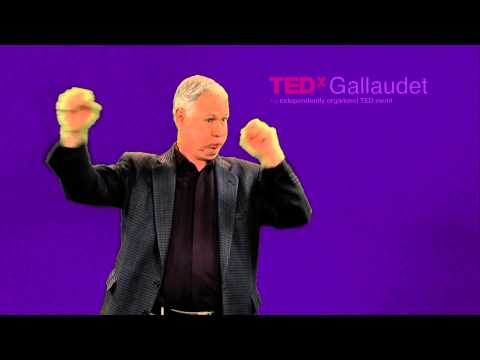 Light Up Gallaudet | Benjamin Bahan | TEDxGallaudet