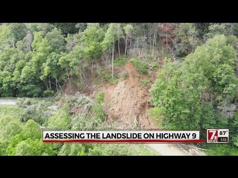 NCDOT provides update on landslide debris removal in Bat Cave