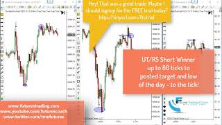 101917 -- Daily Market Review ES CL GC - Live Futures Trading Call Room