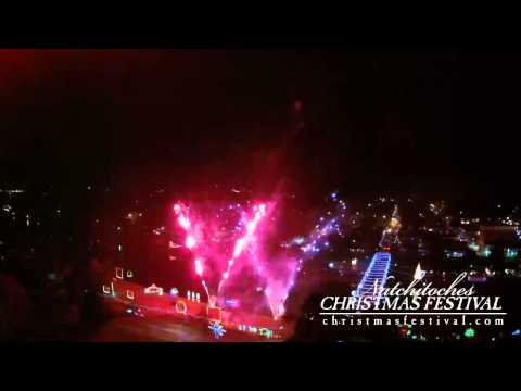 Turn on the Holidays Fireworks 2014 in Natchitoches Louisiana