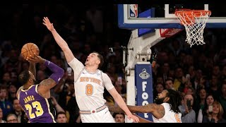 Lakers lose close game to Knicks/Are we really tanking here? Thanks Lebron for sealing the lost