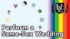 Perform a Same-Sex Wedding