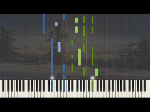 James Blunt - You're Beautiful [Piano Tutorial] (Synthesia)