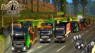 Euro Truck Simulator 2 - COMBOIO COM OS INSCRITOS E MUITA ZUEIRA - Logitech G27