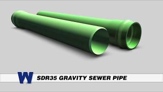 SDR-35 Gravity Sewer Pipe -  WaterworksTraining.com