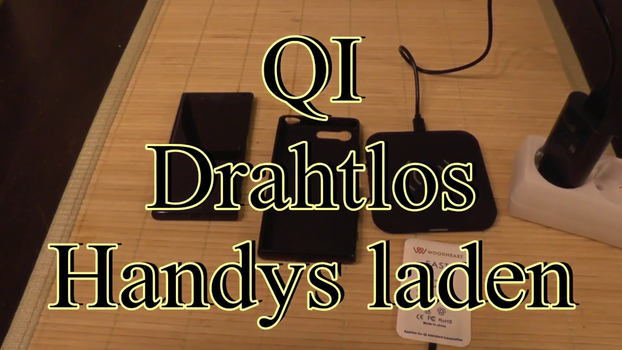 Handy Qi Qi Handy Drahtlos Laden Diy