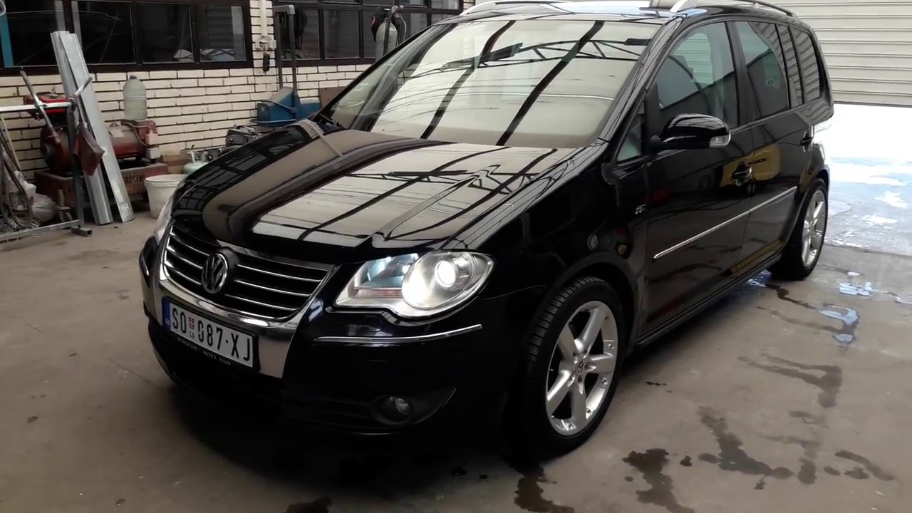 vw touran amazing tuning appearance youtube. Black Bedroom Furniture Sets. Home Design Ideas