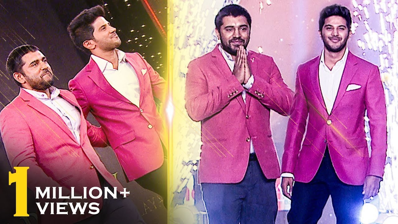 Dulquer Salman & Nivin Pauly together on the ramp - Malayalam cinema's style icons.