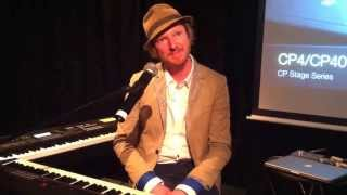 matt johnson from jamiroquai talks about the new yamaha stage piano cp4 cp40