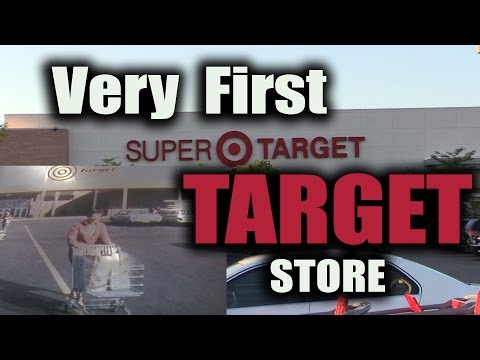 Very First TARGET Store