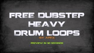 Free heavy dubstep drum loops