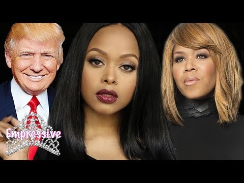Chrisette Michele's downfall: Trump's Curse, Blackballing, Miscarriage, Tina Campbell relation, etc.