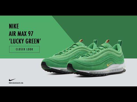 Nike Air Max 97 Lucky Green Cop O Drop Youtube